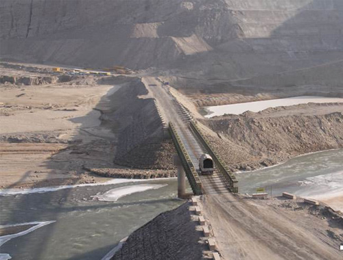 阿勒泰克孜加尔水利枢纽工程