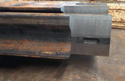 钢轨伸缩缝接头